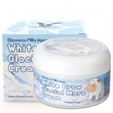 Milky Piggy White Crow Glacial More Cream/Сливочный осветляющий крем для лица, выравнивающий тон кожи